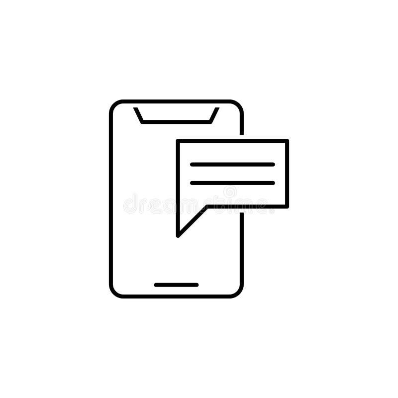 Geschäft seo, Smartphonelinie Ikone Teamwork an der Idee Zeichen und Symbole k?nnen f?r Netz, Logo, mobiler App, UI, UX verwendet lizenzfreie abbildung