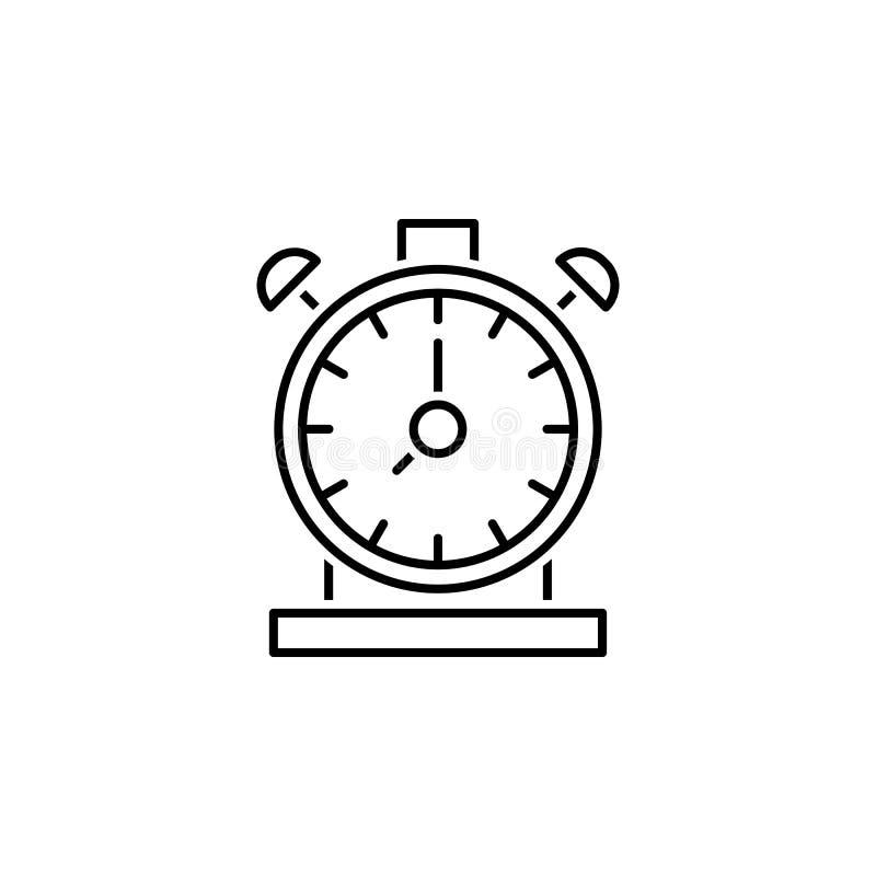 Geschäft seo, Zeitmanagementlinie Ikone Teamwork an der Idee Zeichen und Symbole k?nnen f?r Netz, Logo, mobiler App, UI, UX verwe stock abbildung