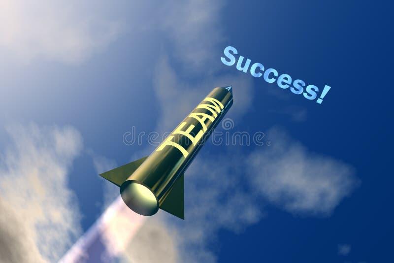 Geschäft Success1 lizenzfreie abbildung