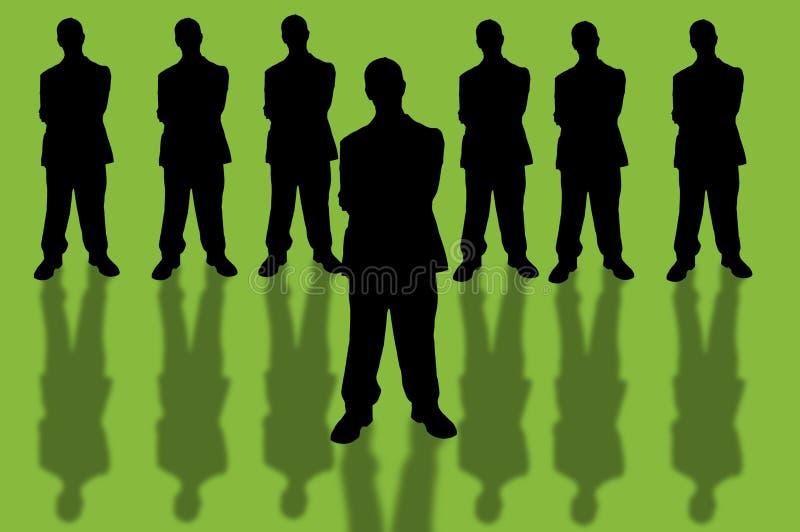 Geschäft team-10 lizenzfreie abbildung