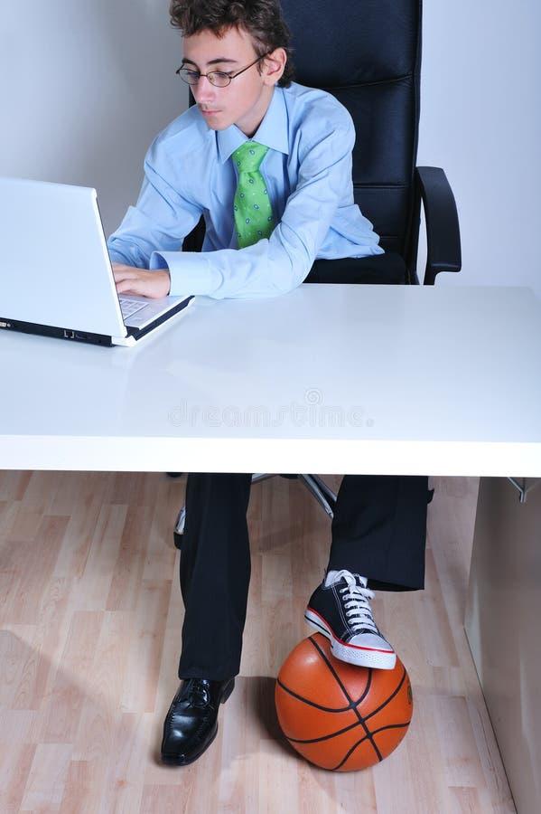Geschäft Und Sport Lizenzfreie Stockbilder
