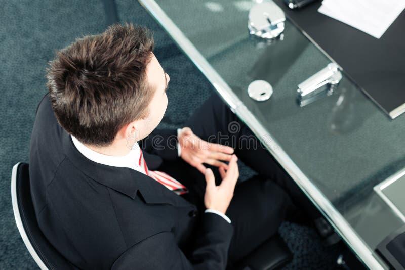 Geschäft - Vorstellungsgespräch stockbild