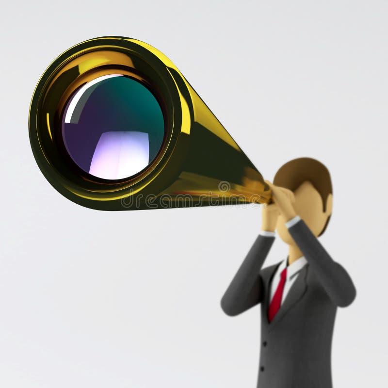 Geschäfts-Anblick stock abbildung