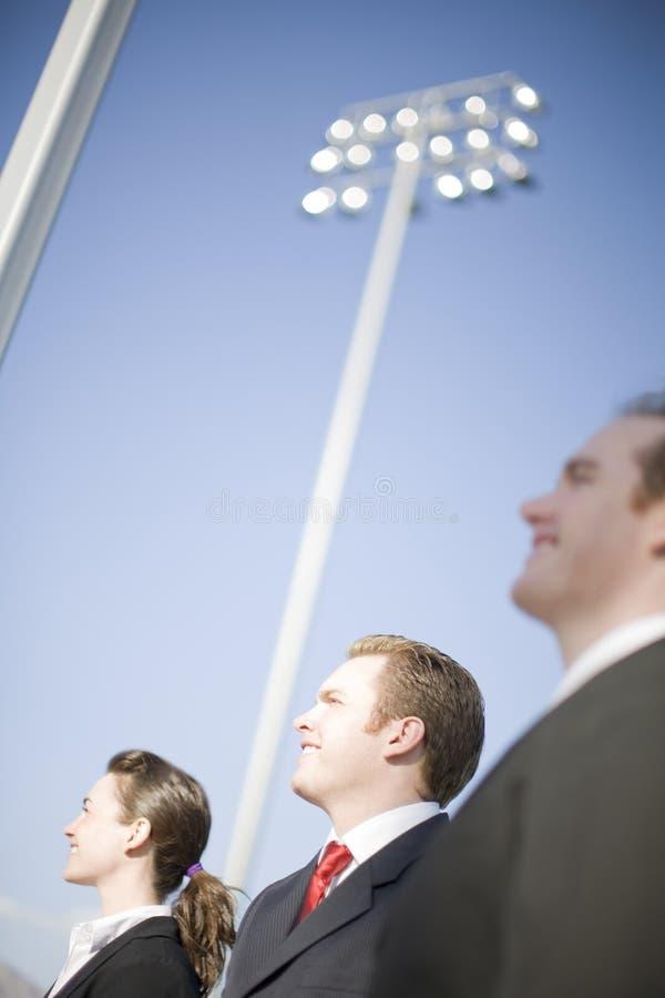 Geschäfts-Anblick lizenzfreies stockfoto