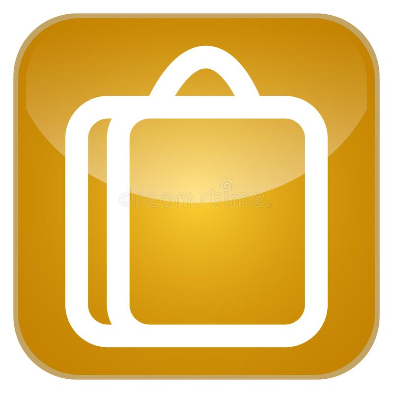 Geschäfts-APP-Ikone stock abbildung