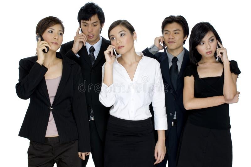 Geschäfts-Aufrufe stockfotos