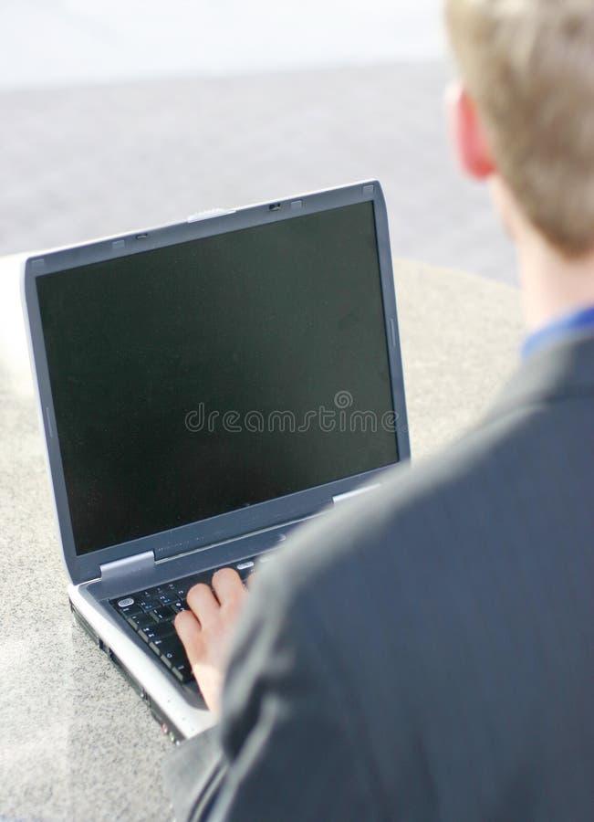 Geschäfts-Bildschirm stockbilder