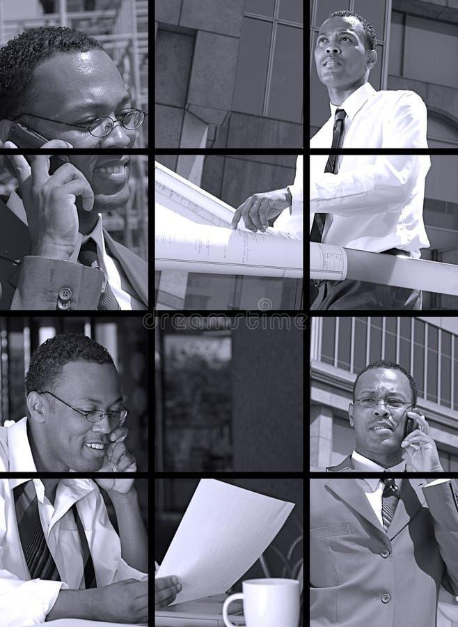 Geschäfts-Collage lizenzfreie stockfotografie