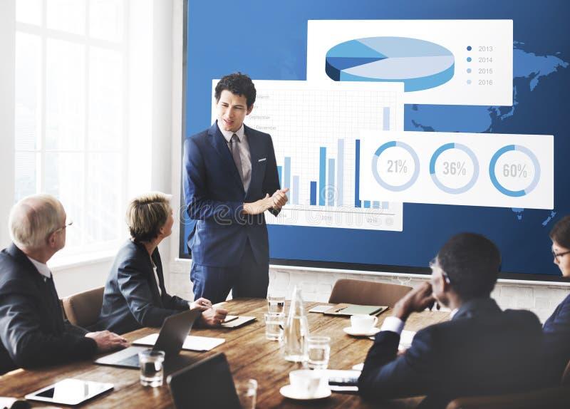 Geschäfts-Diagramm-Organisations-Erfolgs-Konzept lizenzfreie stockfotos
