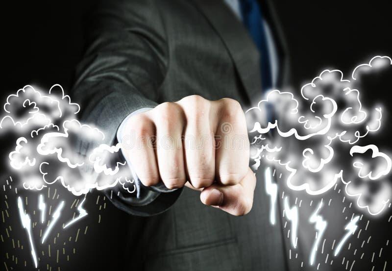 Geschäfts-Energie stockbild
