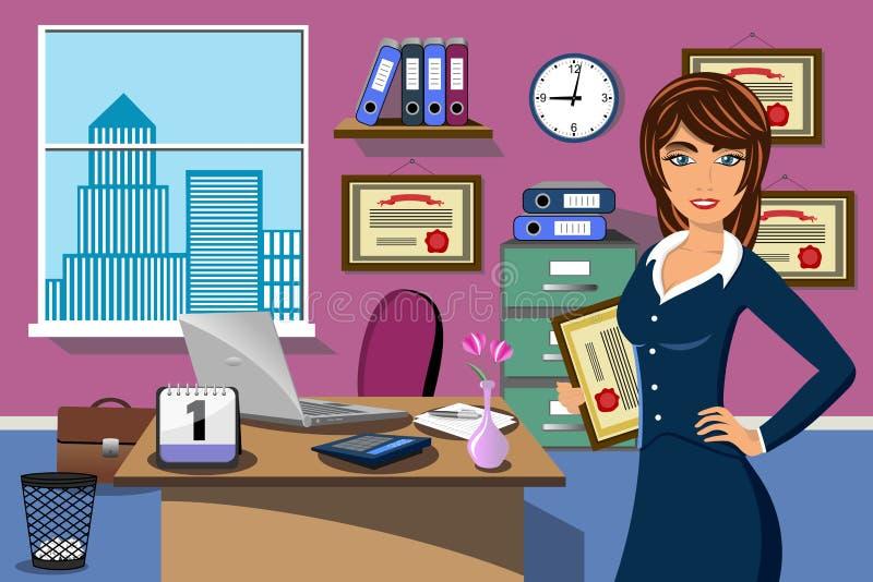 Geschäfts-erfolgreiches Frauen-Büro-Prize Preis