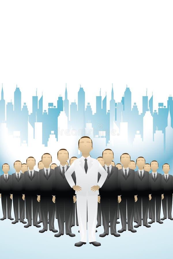 Geschäfts-Führung vektor abbildung