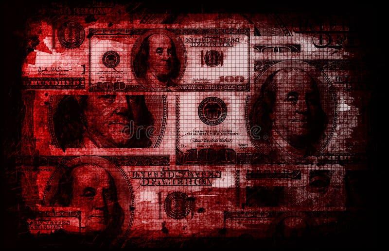 Geschäfts-Finanzauszug lizenzfreie abbildung