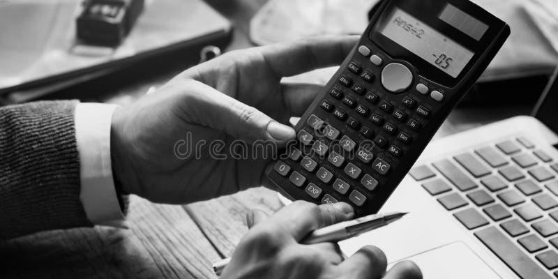 Geschäfts-Finanzierungs-Buchhaltungs-Bankwesen-Konzept lizenzfreie stockbilder