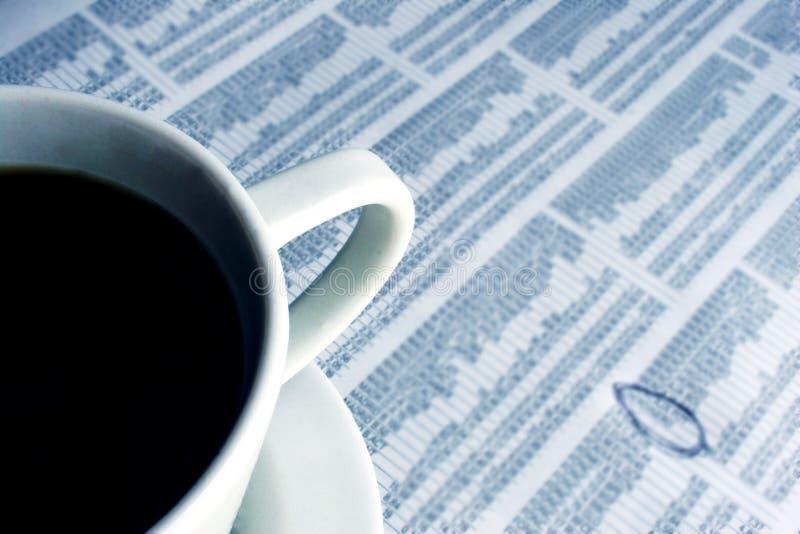 Geschäfts-Frühstück Lizenzfreies Stockbild