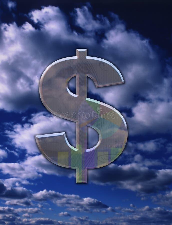 Geschäfts-Geld? stock abbildung