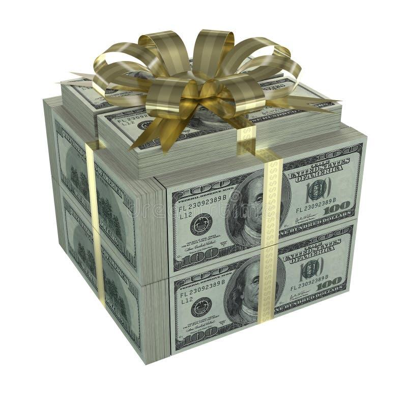 Geschäfts-Geschenk lizenzfreie stockfotos