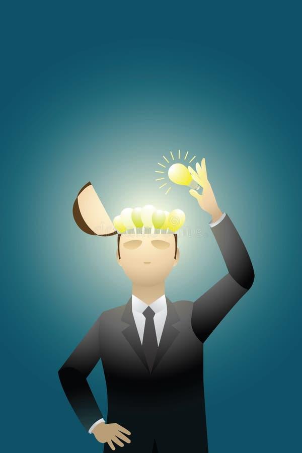 Geschäfts-Kreativität stock abbildung