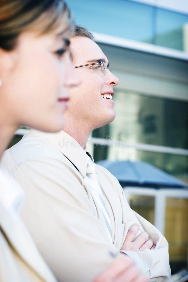Geschäfts-Lächeln lizenzfreie stockbilder