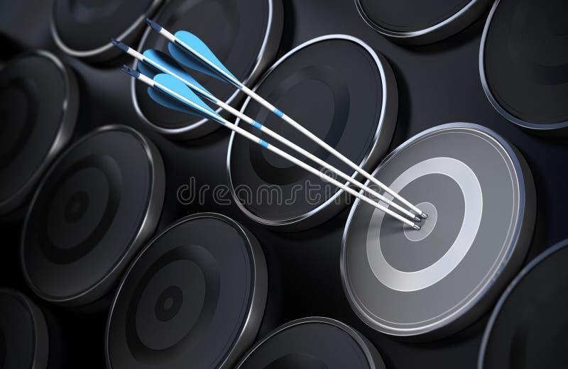 Geschäfts-oder Marketing-Hintergrund, Beratungskonzept vektor abbildung