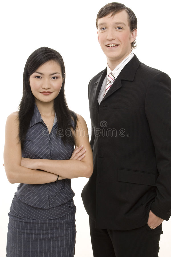 Geschäfts-Paare 1 stockfotos