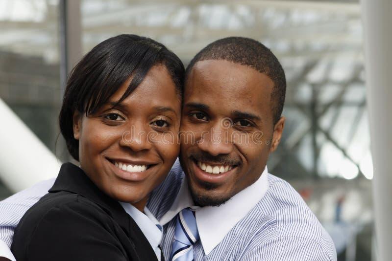 Geschäfts-Paare - Nahaufnahme stockfotos