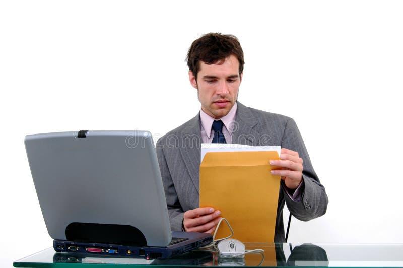 Geschäfts-Post stockbilder