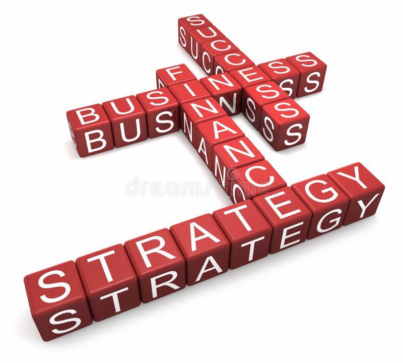 Geschäfts-Puzzlespiel stock abbildung
