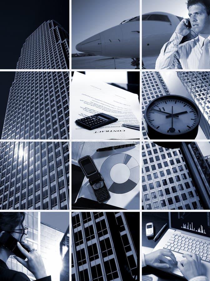 Geschäfts-Rasterfeld - Zeit ist Geld