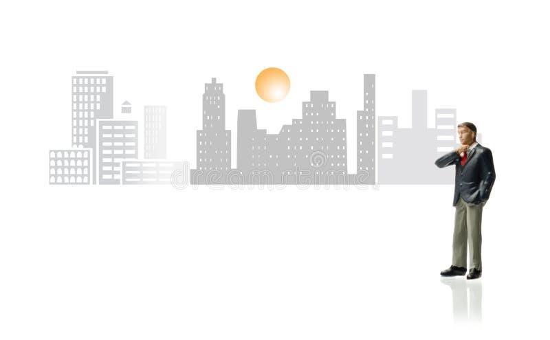 Geschäfts-Stadtbild lizenzfreies stockfoto