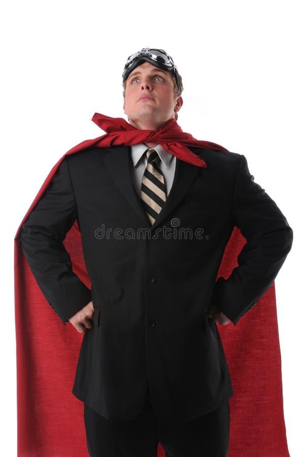 Geschäfts-Superheld lizenzfreies stockfoto