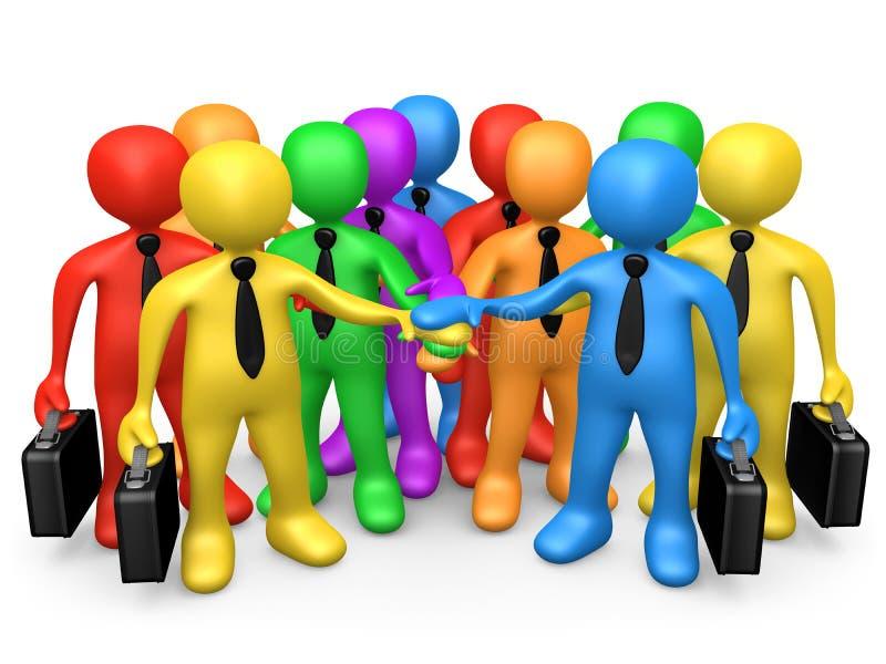 Geschäfts-Team lizenzfreie abbildung
