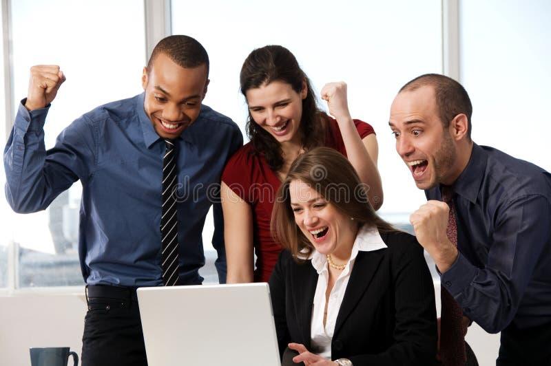 Geschäfts-Team stockfotografie