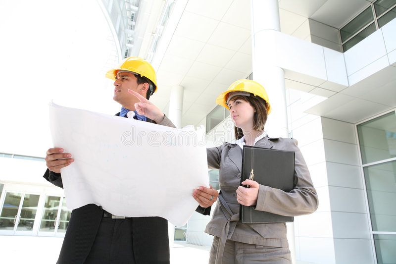 Geschäfts-Team-Aufbau lizenzfreie stockfotos