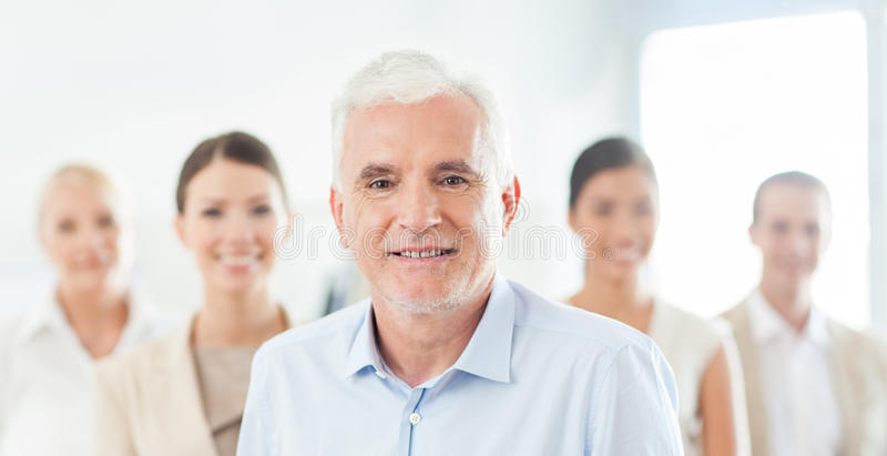 Geschäfts-Team für Erfolg stockfotos