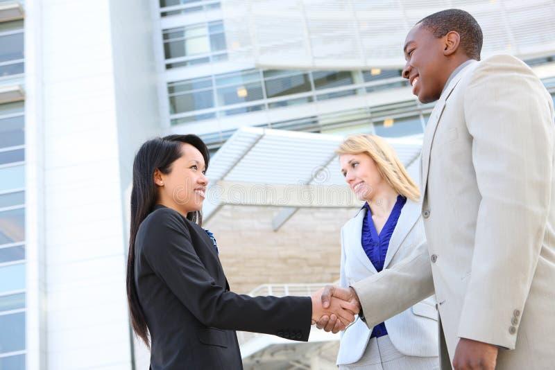 Geschäfts-Team-Händedruck stockbild