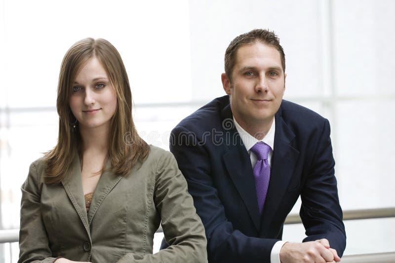 Geschäfts-Team-Portrait stockfotografie
