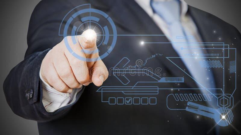 Geschäfts-Technologie lizenzfreie stockfotos