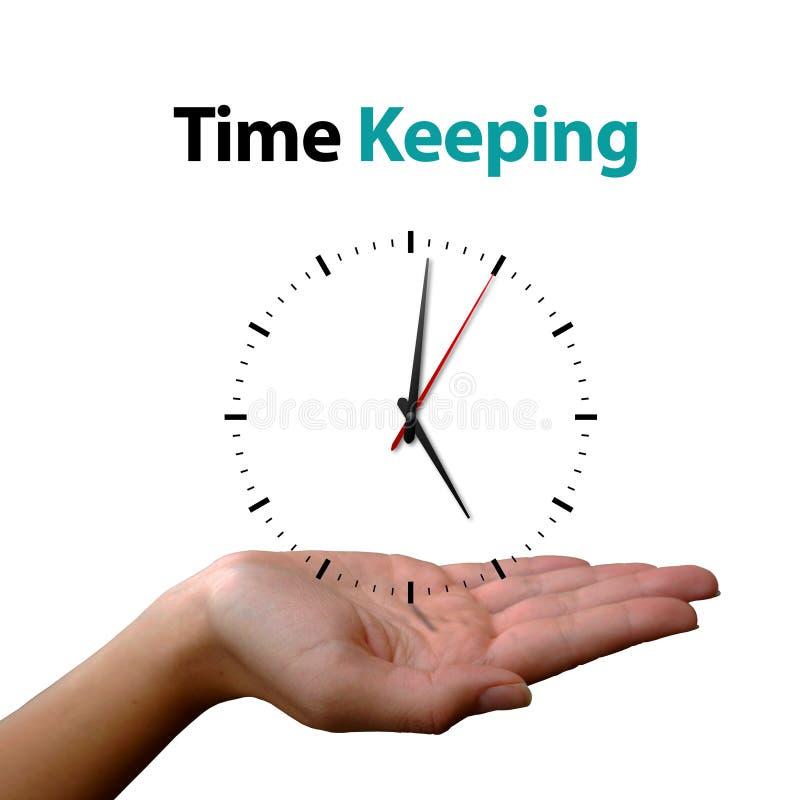 Geschäfts-Uhr-Konzept-Hintergrund stockbild