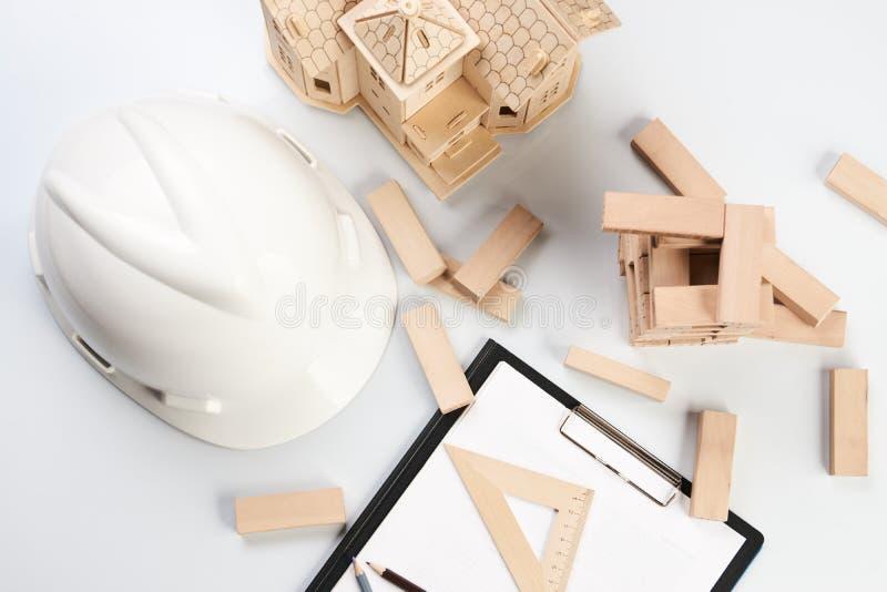 Geschäfts- und Baukonzept lizenzfreie stockbilder