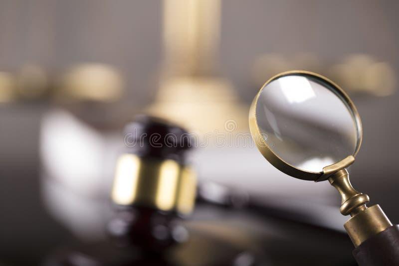 Geschäfts- und Gesetzesthema stockfotos