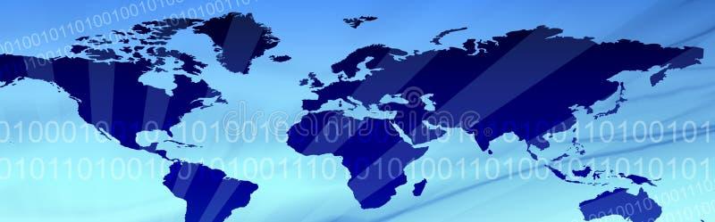 Geschäfts-und Reisen-Web-Vorsatz vektor abbildung