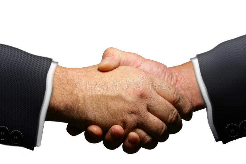 Geschäfts-Vereinbarung lizenzfreies stockfoto