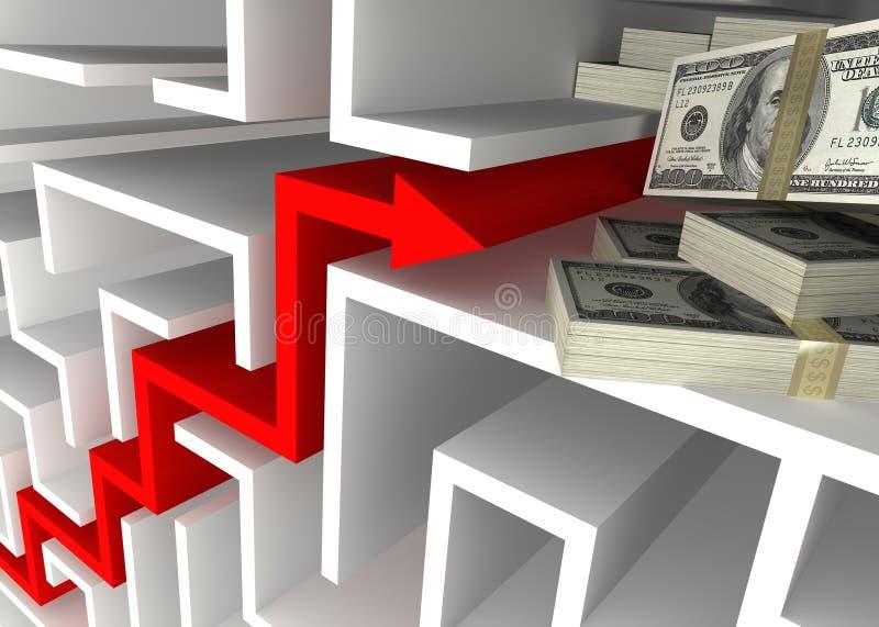 Geschäfts-Wachstum stock abbildung