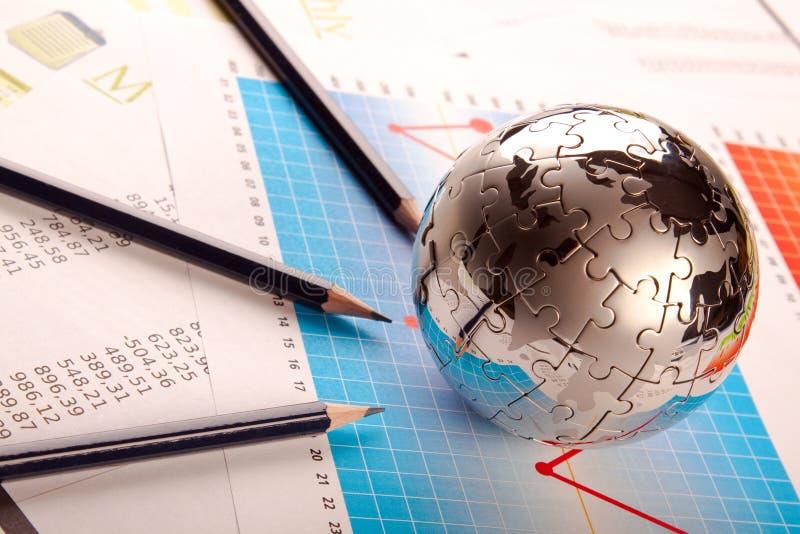Geschäfts-Weltkonzept stockfotos