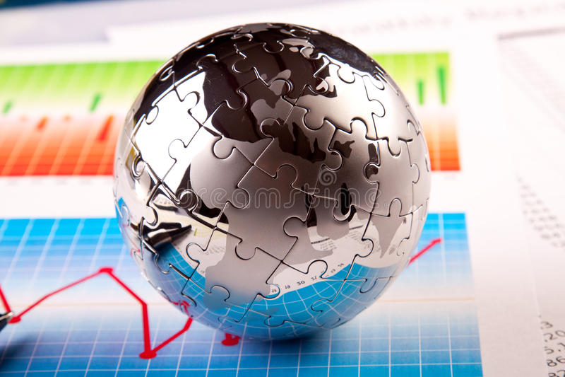 Geschäfts-Weltkonzept stockfotografie