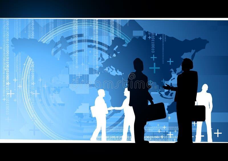 Geschäfts-Weltkonzept