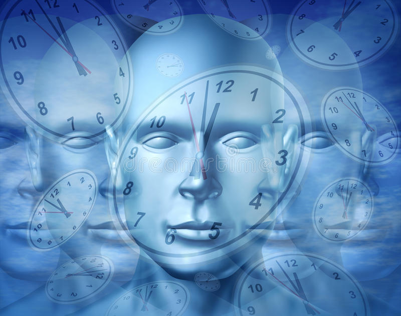 Geschäfts-Zeit-Management lizenzfreie abbildung