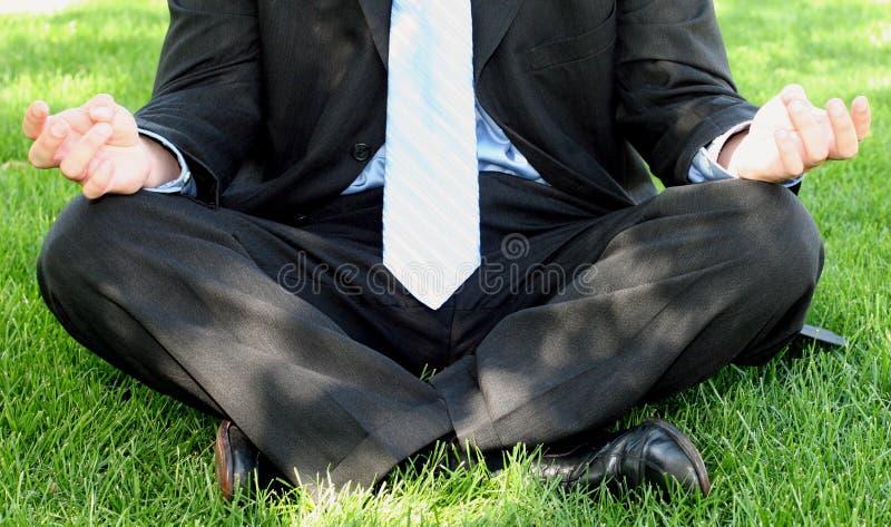 Geschäfts-Zen lizenzfreies stockfoto