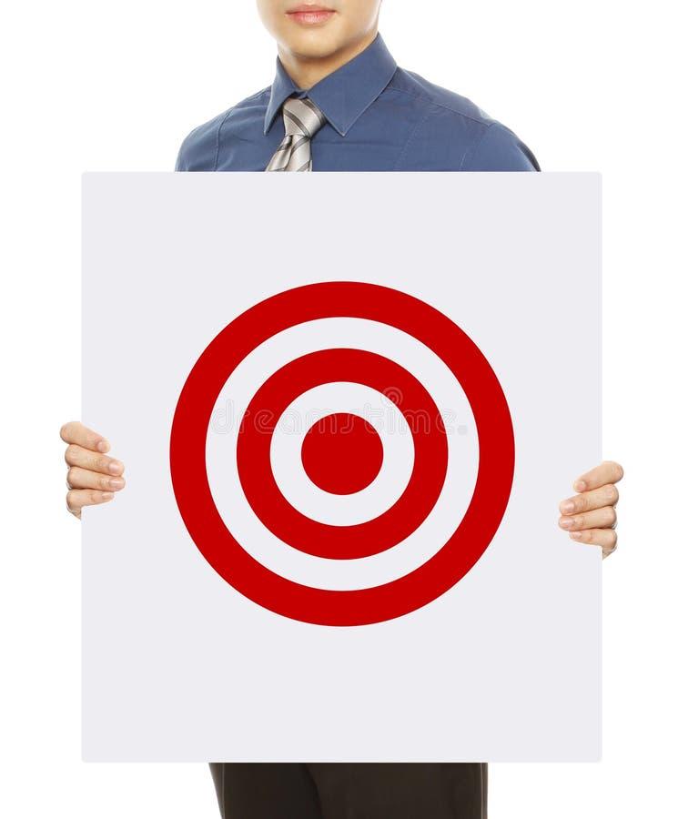 Geschäfts-Ziel stockbild